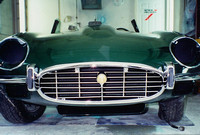 XKE03 Jaguar V12 Smile