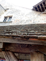 VIN06 Clos de Vougeot Vineyard Roof and Timbers