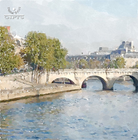 PARISA03- WE The Seine River and Rue du Pont Neuf