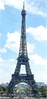 PARISB01- WE Gustave Eiffel Tower in Paris, France